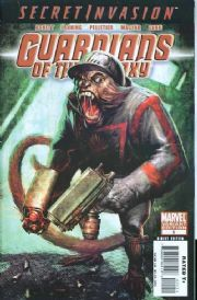 Guardians Of The Galaxy #5 Monkey Variant (2008) Secret Invasion Marvel comic book